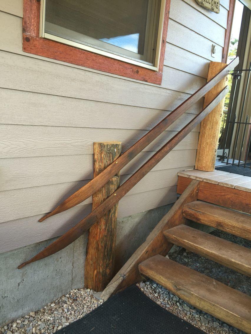Необычные перила для лестницы