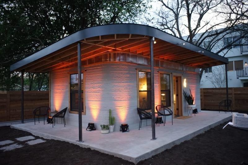 Этот дешевый 3D-печатный дом можно построить всего за сутки