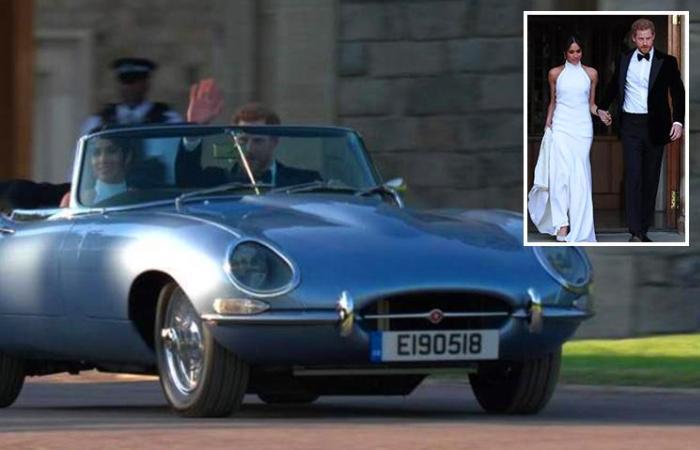 Королева подарила своему внуку на свадьбу спортивный автомобиль с уникальной «начинкой»