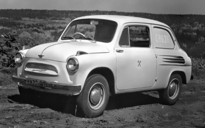 Почтовый автомобиль ЗАЗ-965С.