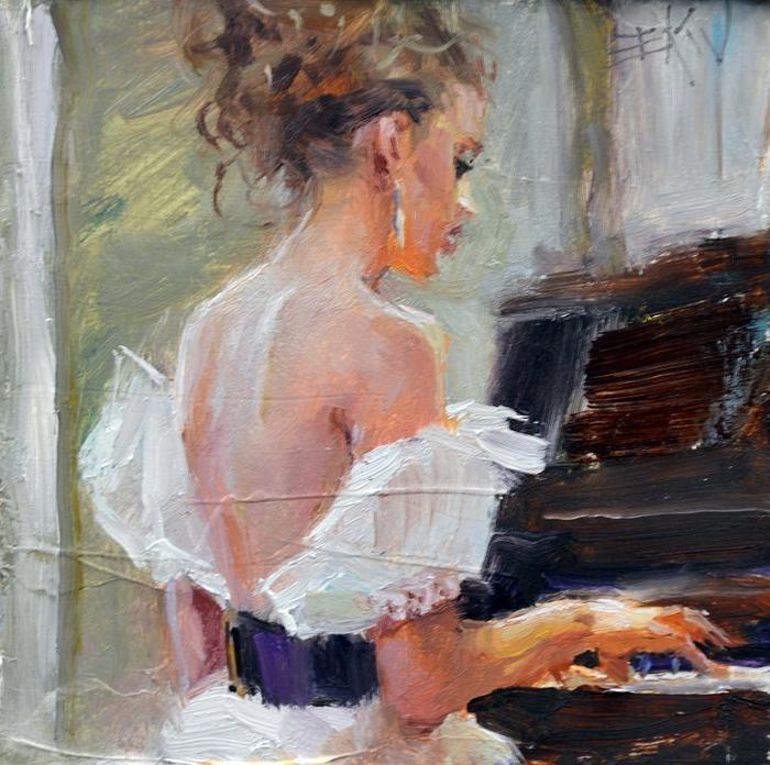 At The Piano_4x4 (700x696, 505Kb)