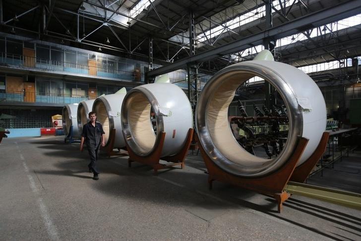 Производство мотогондол и пилонов для двигателей российских гражданских и транспортных самолетов