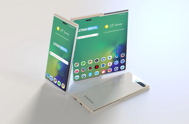 Samsung Galaxy S11 может получить раздвижной дисплей новости,смартфон,статья
