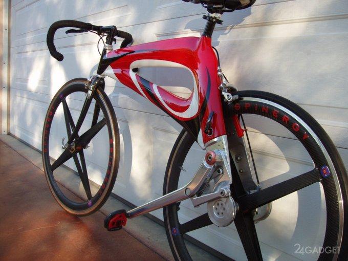 Футуристичный бесцепной велосипед NuBike nubike