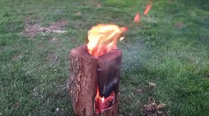 Как развести костер в походе, который будет гореть несколько часов