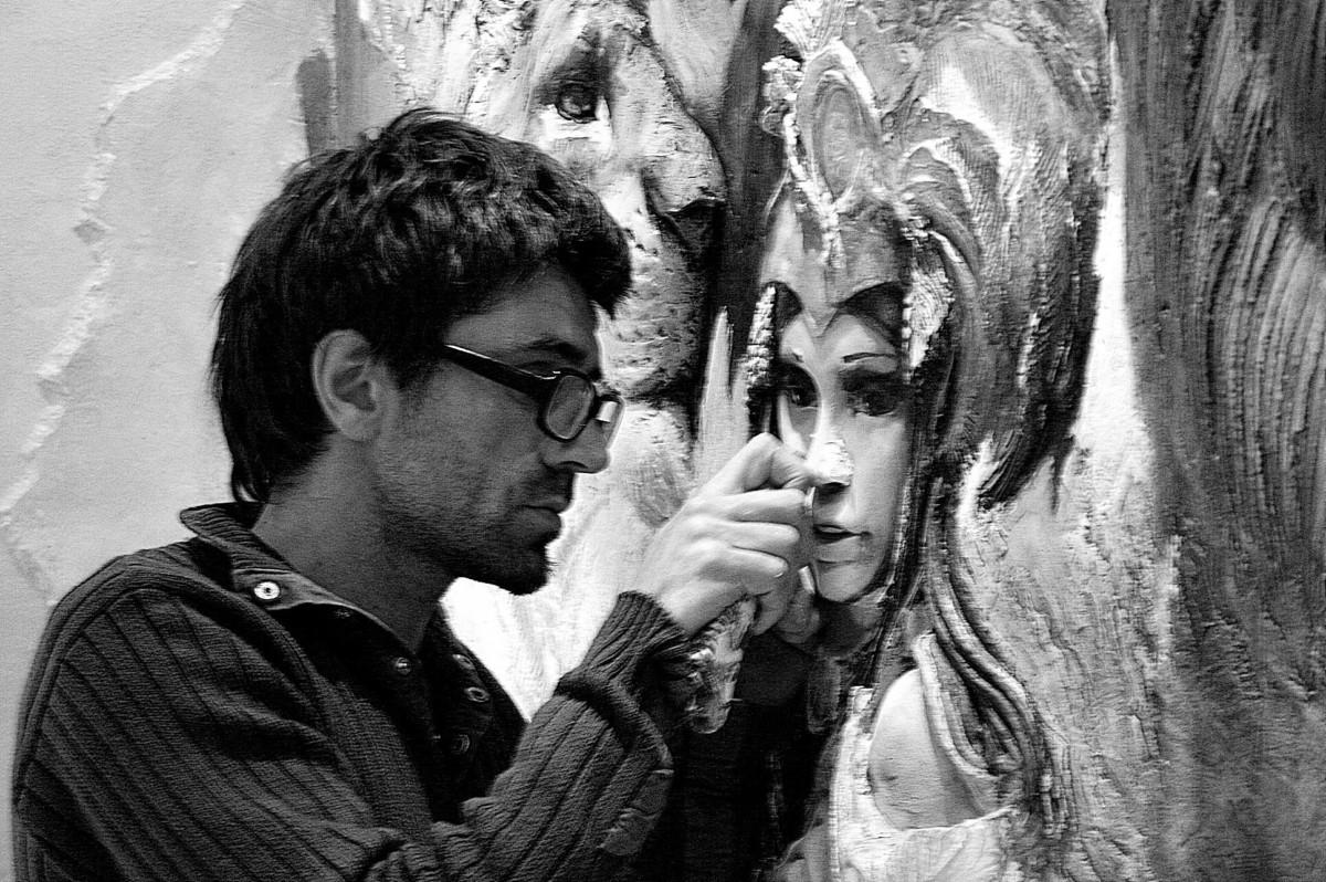 Талантливый москвич превращает стены в произведения искусства домашний очаг,рукоделие,своими руками
