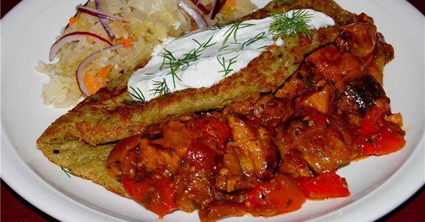 Сочный драник по-венгерски: станет отличным основным блюдом