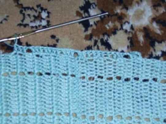 техника вязания вязание рукава сверху