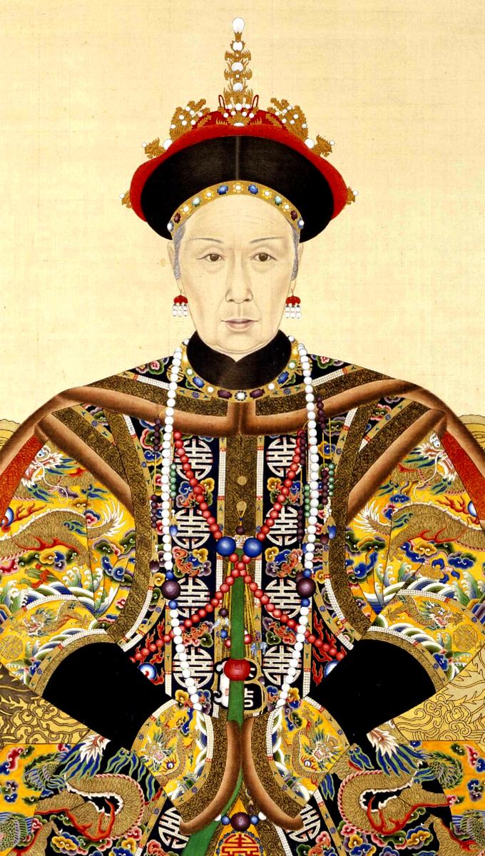 Парадный портрет императрицы Цы Си