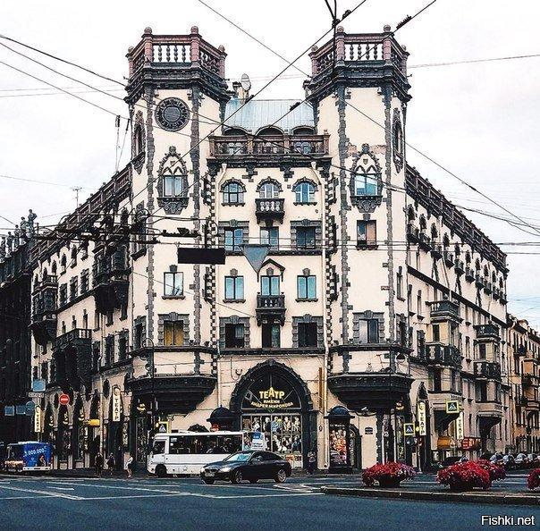 12-Театр имени Андрея Миронова Красивые здания, СПб, питер