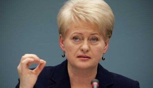 Грибаускайте заявила: Литва должна быть «сердцем и душой» готова к нападению России