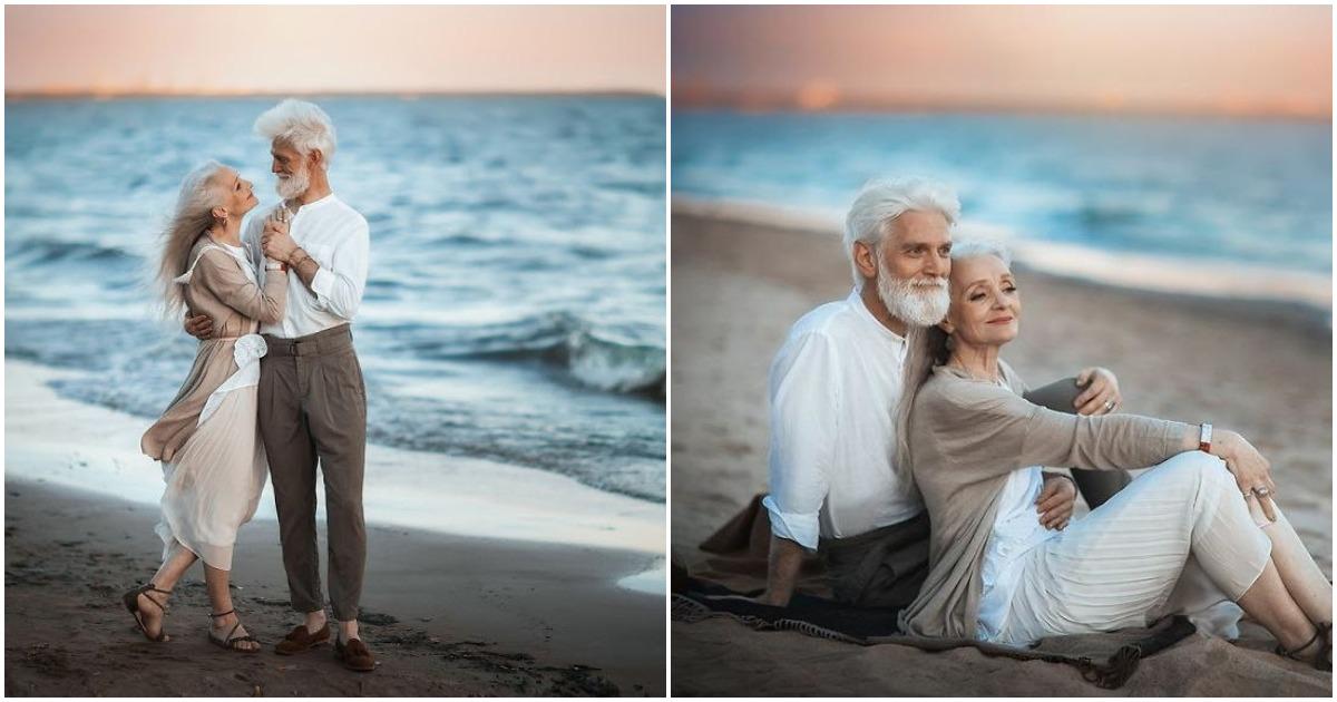 Красивая фотосессия пожилой пары заставляет задуматься о многом