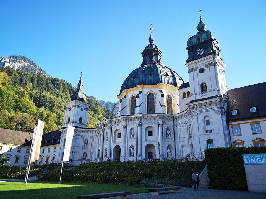 Эттальский монастырь. Самый красивый монастырь Германии. авиатур