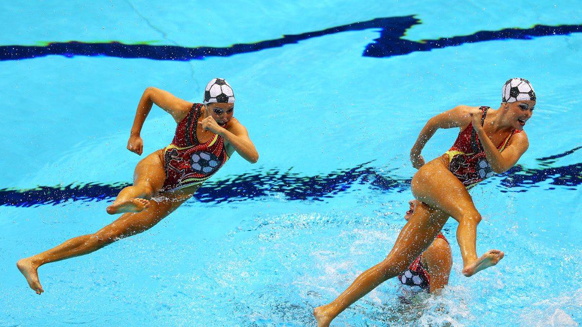 самый смешные картинки синхронного плавания вознесенська