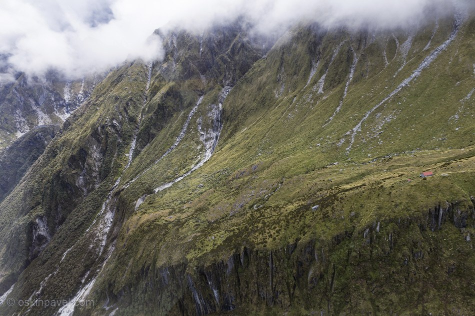 Пейзажи Южного острова в Новой Зеландии путешествия