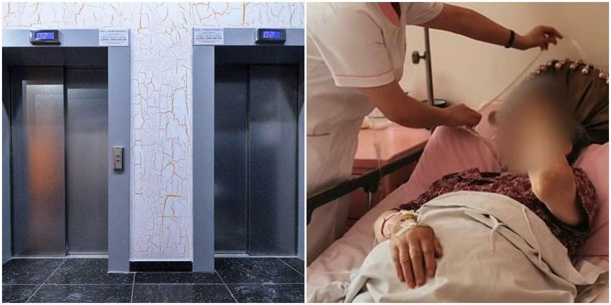 В Китае пенсионерки на четыре дня застряли в лифте и выбрались самостоятельно