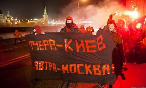 Украинский майдан как мухобойка, которой бьют всякий протест в России