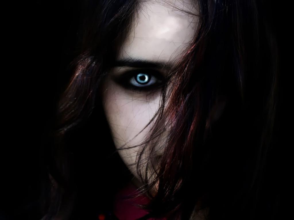 Темные картинки с глазами