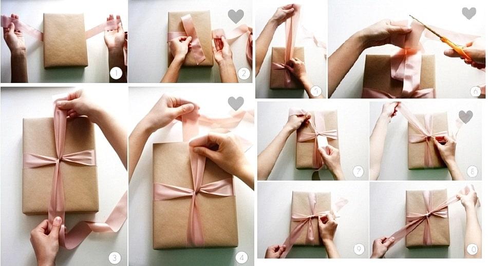 товаров магазинах как упаковать подарок в подарочную бумагу фото объявлением
