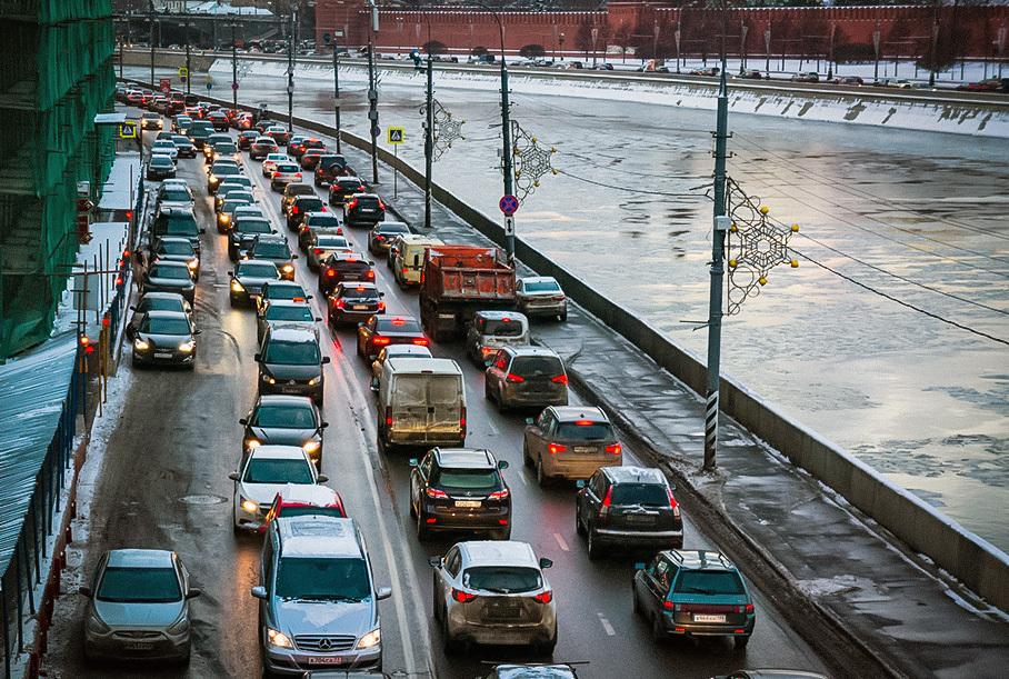 Москва лидирует в рейтинге самых пробочных городов мира Новости