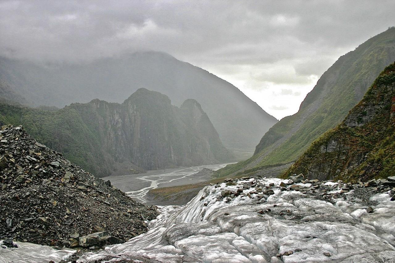 Ледник Фокса, Новая Зеландия. Фотограф - Джеймс Кэрол Ли красивые места, красота, ледник, ледники, природа, путешественникам на заметку, туристу на заметку, фото природы