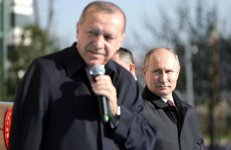 Турецкие СМИ выяснили, зачем Путин регулярно хвалит Эрдогана