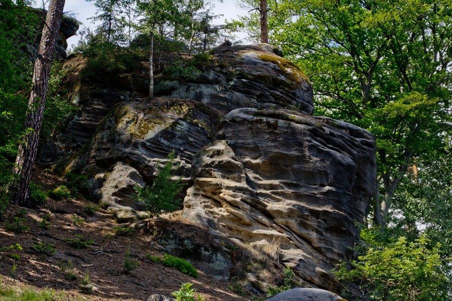 Впечатляющие Праховские скал…