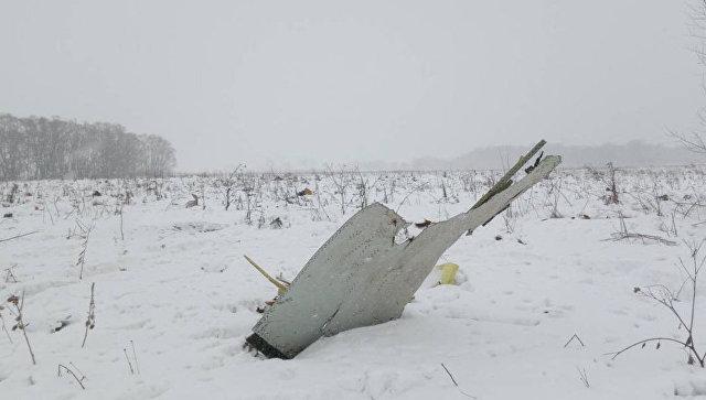 В России прокомментировали возможное крушение самолета из-за теракта