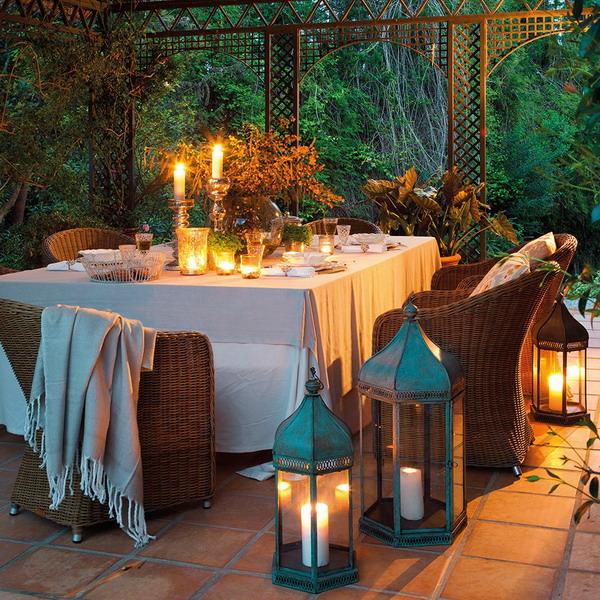 Дом с роскошной беседкой и ароматом мимозы: интерьерное путешествие в испанскую глубинку