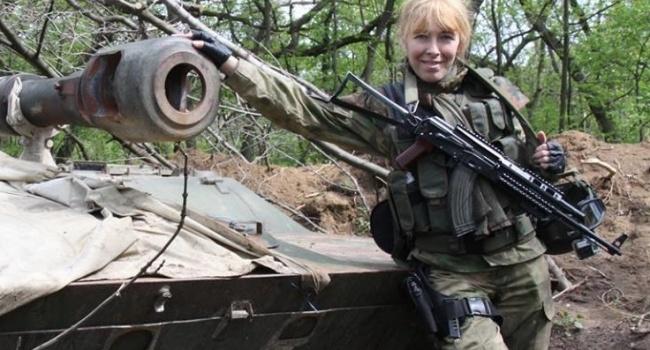 Украинский снайпер Елена Белозерская предложила называть танки именами звезд гастролирующих в России