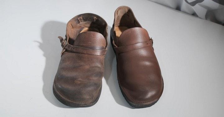 Не выбрасывайте старую кожаную обувь! Есть способ снова сделать её как новую