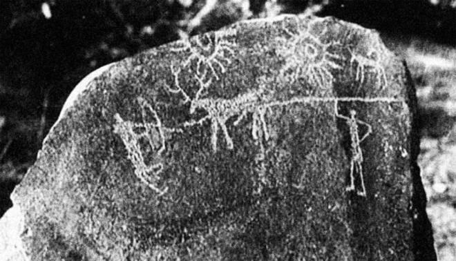 На камнях из Индии нашли изображение апокалипсиса, произошедшего тысячи лет назад ученые, пещерах, космических, периода, других, рисунка, свидетельств, туманность, выводу, пришли, Ученые, Земли, недалеко, относительно, находится, после, событий, оставила, нашей, вспышка