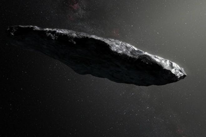 Ученые предполагают, что астероид Оумуамуа может быть снабжен солнечным парусом, созданным другой цивилизацией