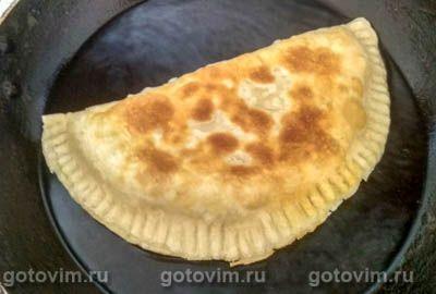 Чебуреки с творогом, сыром и зеленью  болгарская кухня,выпечка,кулинария,чебуреки