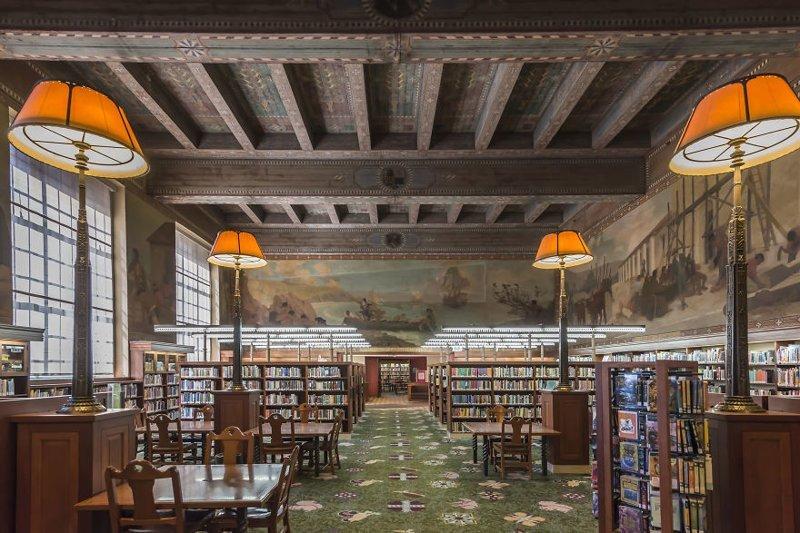 14. Публичная библиотека Лос-Анджелеса, Калифорния, США архитектура, библиотека, библиотеки, библиотеки мира, красота, путешествия, фотограф, фотопроект