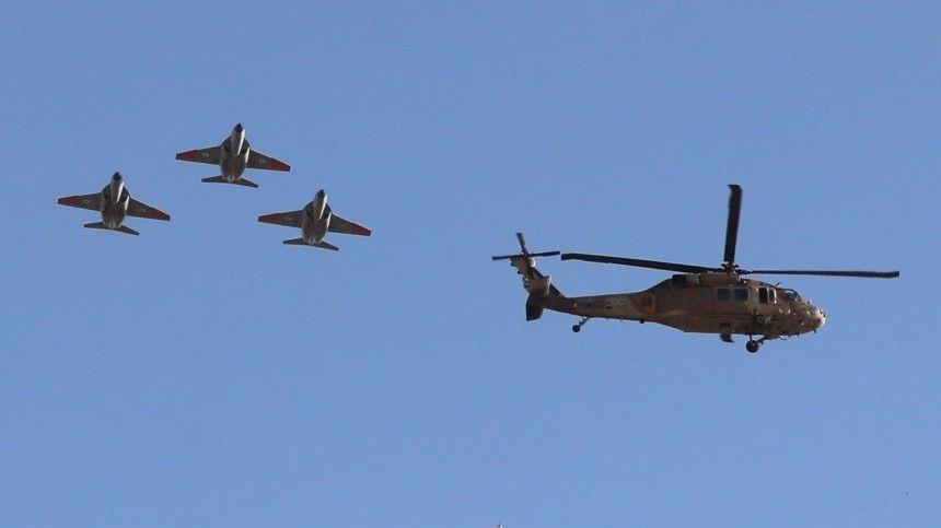 Израиль поразил военные объекты ХАМАС вСекторе Газа