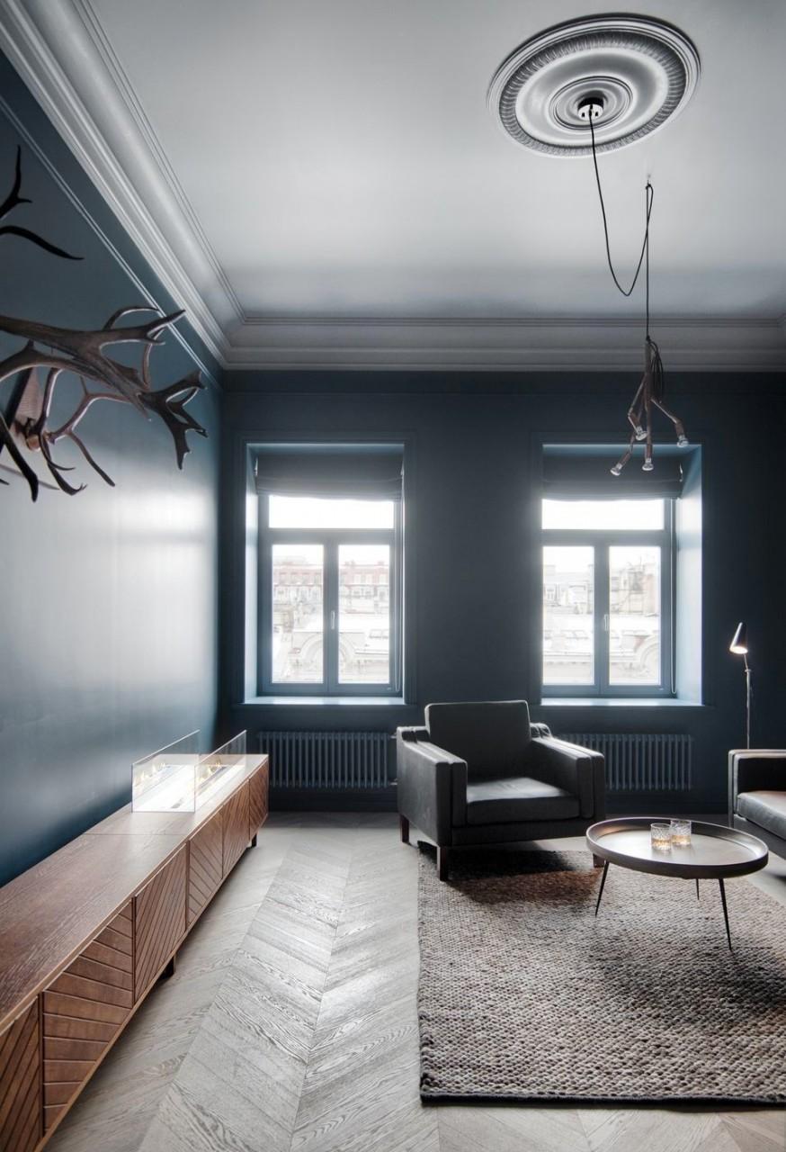 Интерьер квартиры в центре Санкт-Петербурга