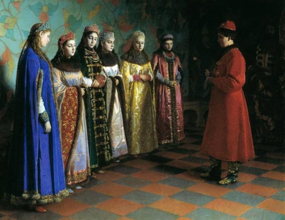 КОНКУРСЫ КРАСОТЫ ЦАРСКОЙ РОССИИ ИЛИ КАК ЦАРИ ВЫБИРАЛИ СЕБЕ НЕВЕСТ