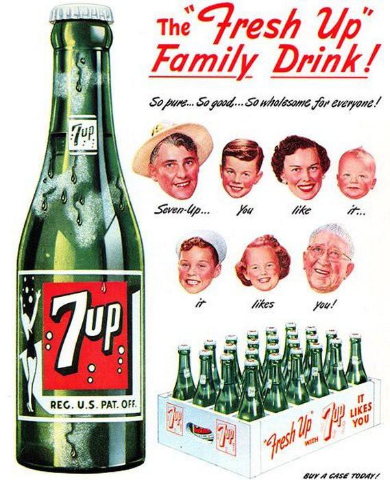 """Почему компания Кока-Кола назвала свой напиток """"7 Up"""""""