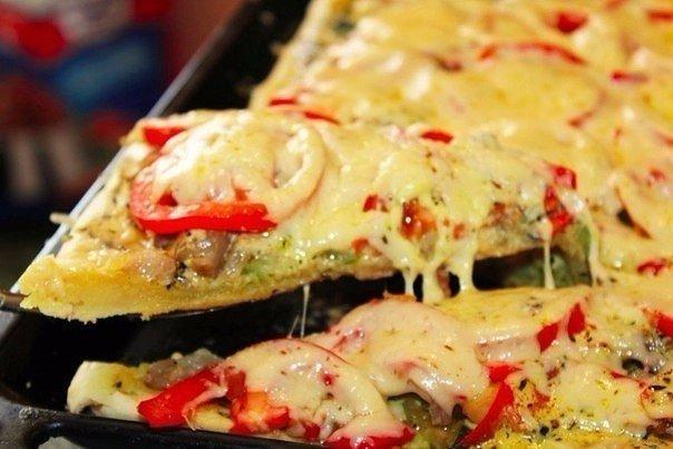 Овощная пицца, которая влюбляет в себя всех без исключения