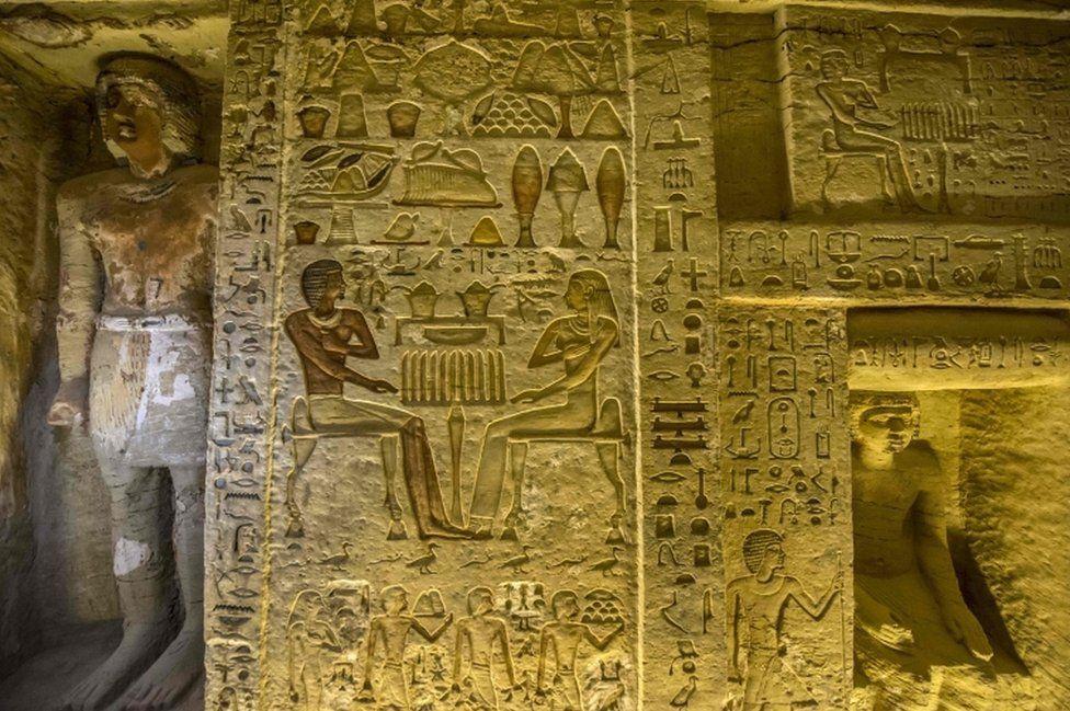 Гробницу жреца в Египте обнаружили