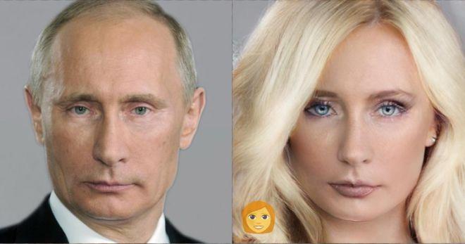 Как бы выглядели главы разных стан, если представить их женщинами
