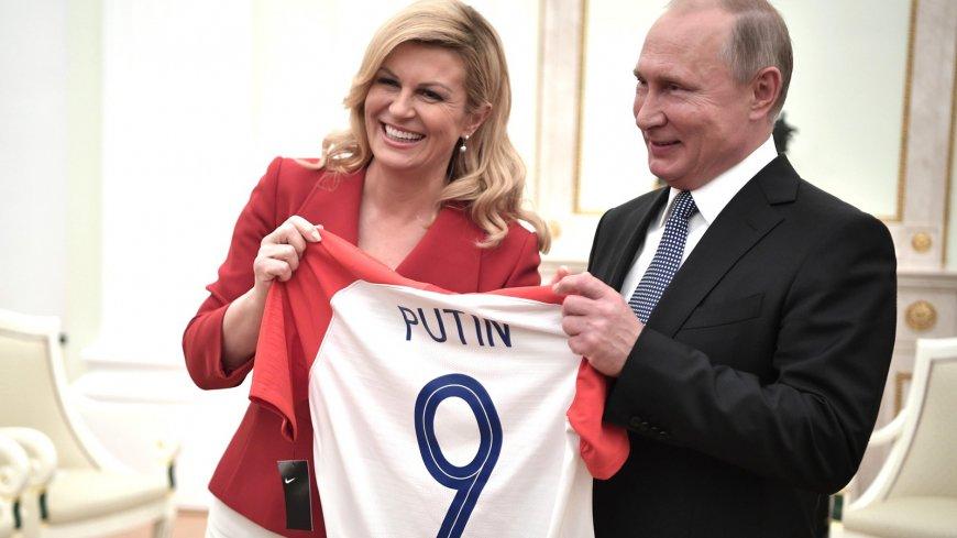 Президент Хорватии выступила…