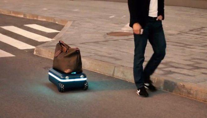 Travelmate – чемодан, который передвигается сам