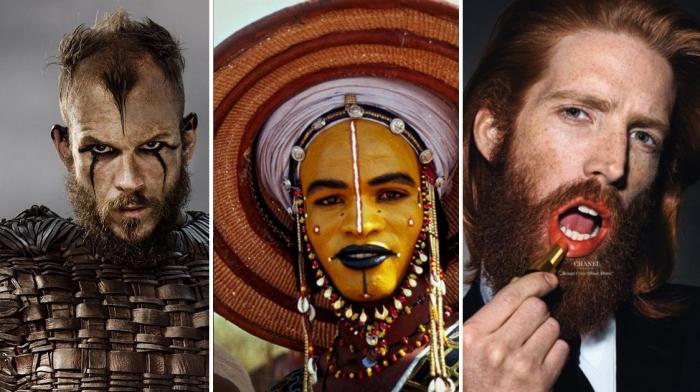 Любопытные факты из истории мужского макияжа