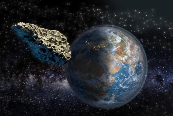 16 сентября с Землёй сблизится крупный астероид 2004 DV24