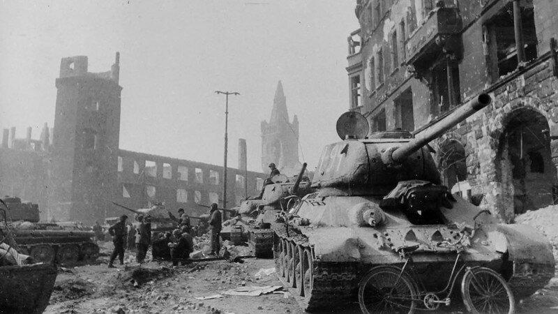 Кёниксберг (Калиниград). апрель 1945 г. #Фотографии, #история, #факты, .война
