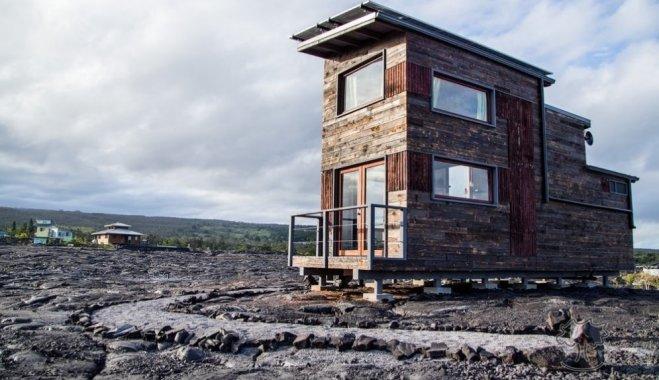 ФОТО. Необычный домик на Гавайях, построенный на крупнейшем в мире действующем вулкане