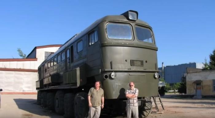 Поезд-внедорожник: история одного смелого эксперимента отечественных инженеров