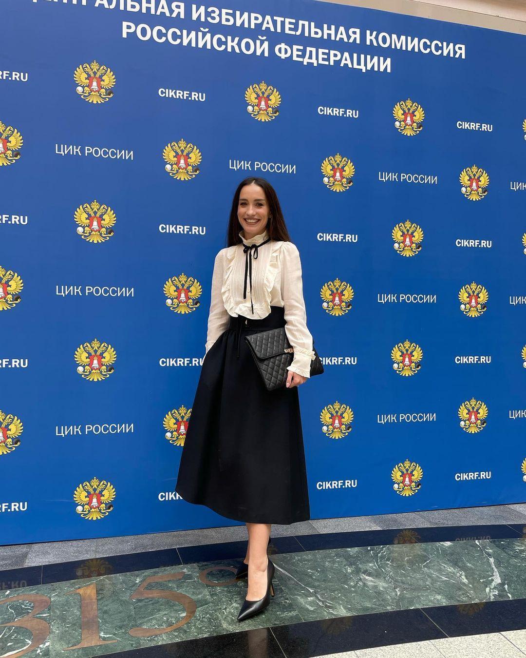 Виктория Дайнеко зарегистрировалась кандидатом в депутаты Госдумы